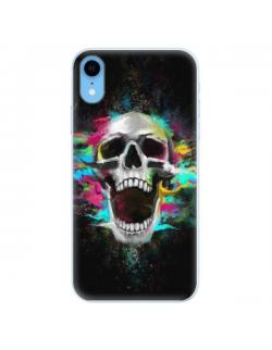 Silikonové pouzdro iSaprio - Skull in Colors - iPhone XR